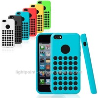 High quality for iphone 5C soft silicone case