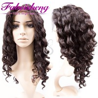Indian Women Hair Wig, human hair full lace wig For Black Women, Fashion Lace Front Wig