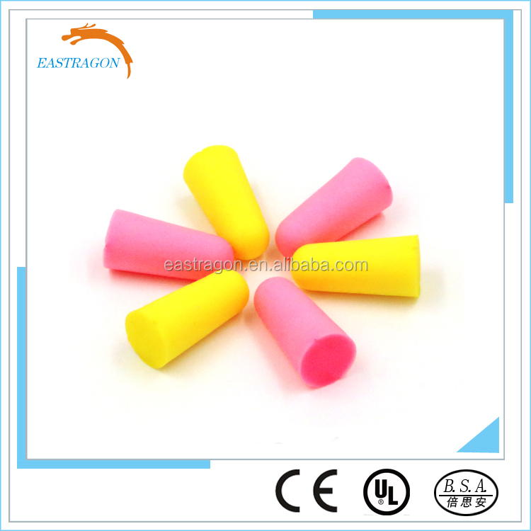Disposable PU Foam Ear Plugs with Case
