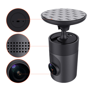 Factory wholesale Brand OEM Fashion Original Design car DVR Recorder with WIFI G-Sensor 1080P 156 wide Angle Camera MC3