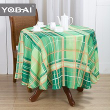 Custom Size Modern Design Colorful Printed Tablecloth