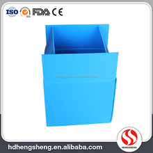 Best price strong waterproof danpla foldable pp corrugated storage box plastic