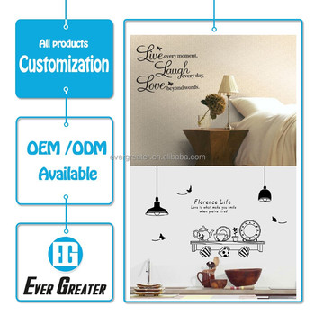 Wall stickers home decor,custom decorative wall stickers,wall decor stickers for home decoration