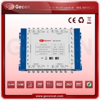 Gecen 2017 Cascade Multiswitch /9 in 16 multiswitch MS-9916C