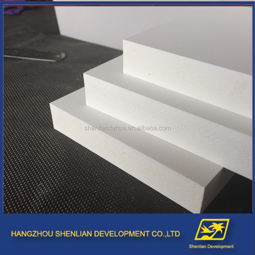 19mm thickness high density 4x8 partition board pvc foam sheet