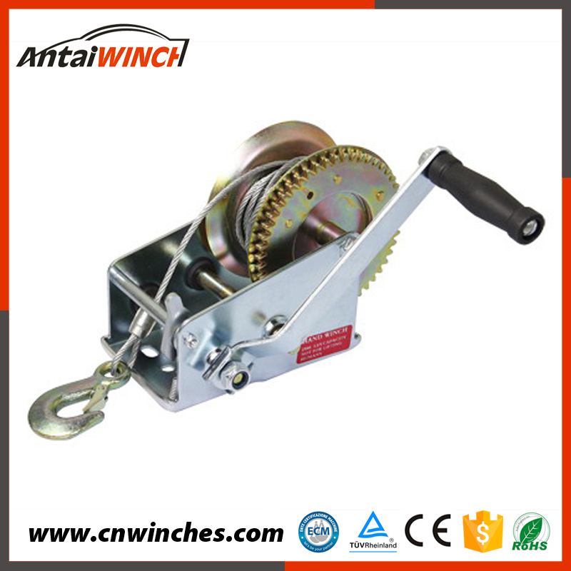 one-stop solution service easy to operation manual fishing winch small