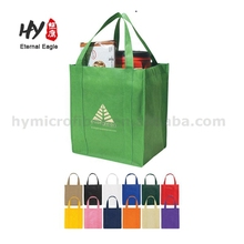 Reusable Eco Carrying Cheap Non Woven Promotional Grocery Tote Bags