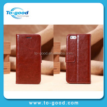 China Supplier For iPhone 6 Leather Case With Holder For Stylus,Case For iPhone 6 New Design 2014