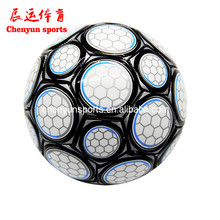 Unique Hand sewn PVC football Cool soccer ball