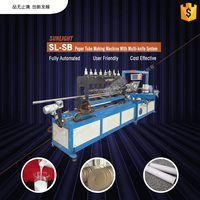 High Quality Automatic Gift Paper Box Paper Tube Packing Machine/Made In China