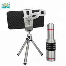 18X Mobile Phone Lens Zoom Telescope Camera Telephoto Lens for Universal Smartphone with tripod