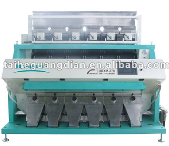CCD rice colour sorters