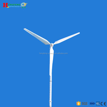 50KW wind turbine with aerodynamic brake and manual brake