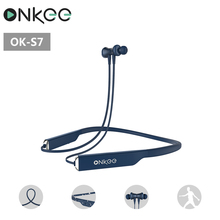 great sound quality IPX4 waterproof neckband bluetooth earphone S7