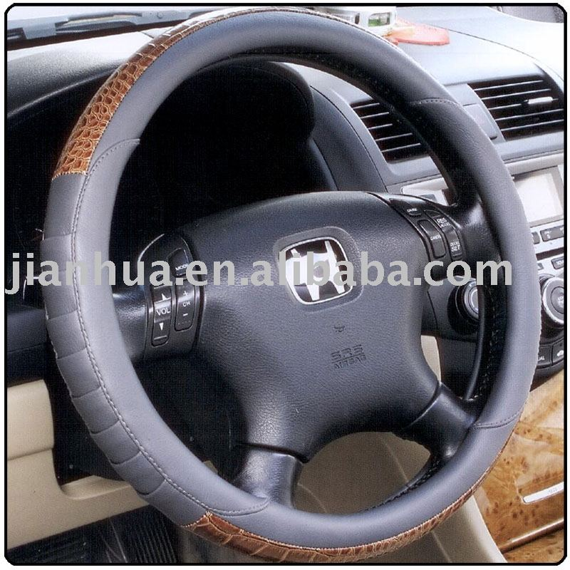 car steering wheel cover,automobile steering wheel cover,leather steering wheel cover