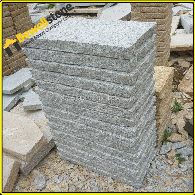 3cm thick chinese grey granite patio cobblestone pavers for How thick is granite