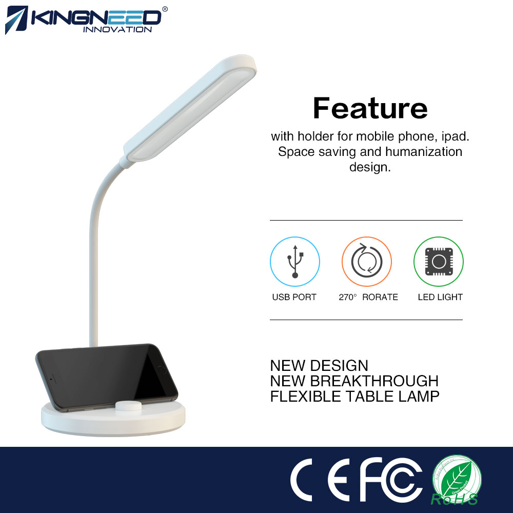 wholesale factroy price LED desk lamp,USB interface,LED lamps lighting,6000-6500k,5W2A