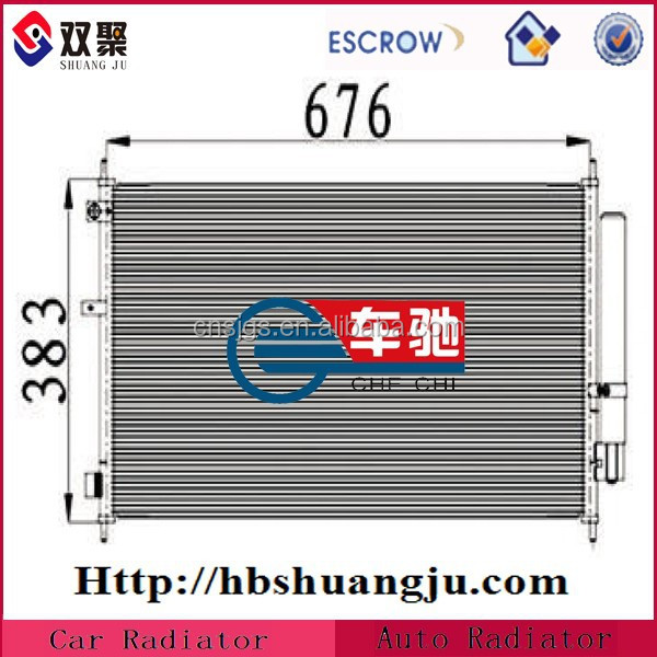 Automotive Condenser for car Air conditioning system