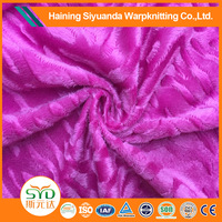100% soft polyester different types of satin fabric
