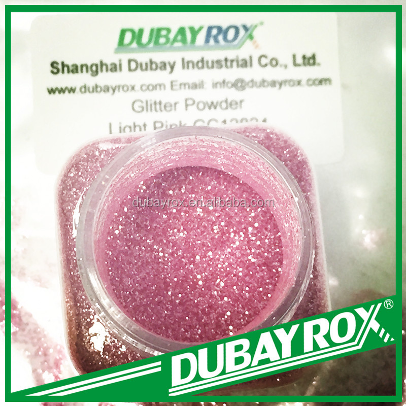 Pink Glitter Powder for Christmas Party Decoration
