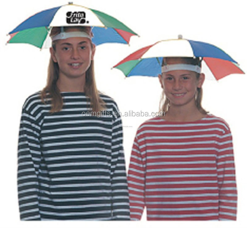 Umbrella Hat with OEM color and logo