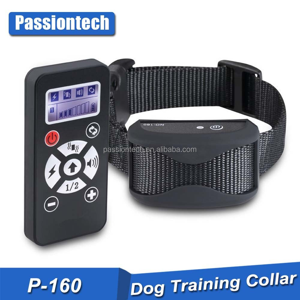 2016 Premium Quality Rubber Dog Training Collar with Internal Antenna, 800 Yards Remote Range and Auto Anti Bark Mode