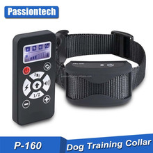 2017 Premium Quality Rubber Dog Training Collar with Internal Antenna, 800 Yards Remote Range and Auto Anti Bark Mode P-160