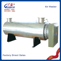 High quality tubular stainless steel air heater