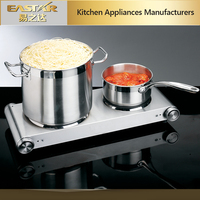 Portable cooking applience 2 burner electric stove Cooking Hot Plate ETL electric burner for home cooking