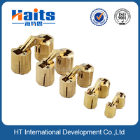 Solid Brass Invisible Barrel Hinges