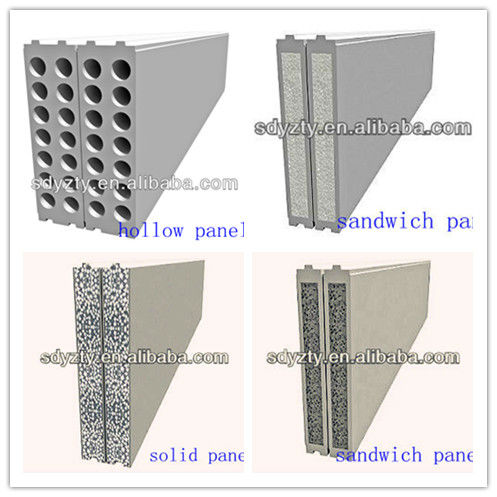 Hot Sale EPS Foam Cement Sandwich Wall Panel Molding Machine
