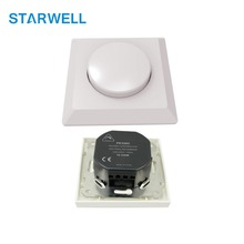 350W max rotary controlled led trailing dimmer with 2 years warranty