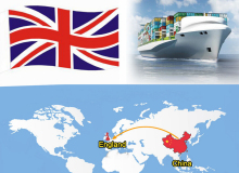UK amazon sea freight door delivery agents from China to Amazon UK