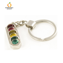traffic light keychain custom key chain custom made lapel pin