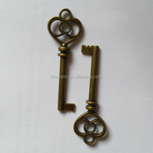 SHC-2001 Custom Metal Antique Bronze Decorative Key Blanks