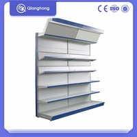 Light Duty Metal Book Wire Shelving Store For Home