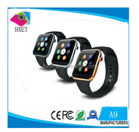 A9 Smart Watch With Heart Rate Monitor Support iOS and Android Phones Bluetooth Smart Watch