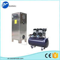 Hospital ozone washing machine, ozone water for cloth cleaning and disinfection