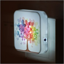 Creative beautiful mini night light, sensor led night light