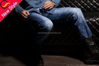 red bliue denim die brand mens designer jeans wholesale