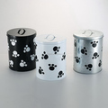 Metal Food safe pet food container
