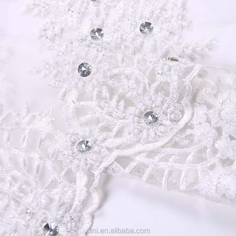handmade chiffon rose embroidery lace fabric, white embroidered silk curtain fabric, pva film for embroidery fabric