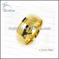 gold ring designs tungsten steel rings