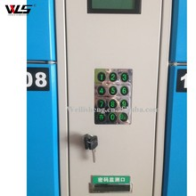Top Quality 12 Door Metal Electronic Supermarket Barcode Locker