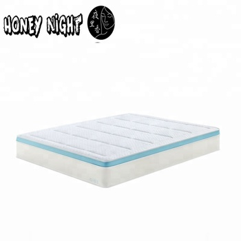 wholesale cooling natural gel memory foam mattress roll up in a box