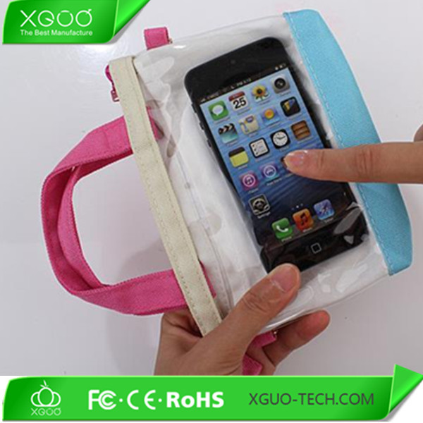 New product window view mobile phone handbag