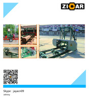ZICAR MJ1300 portable sawmill for sale