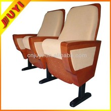 JY-888 Hot Selling VIP Tip-up Used Stadium Seat Conference Meeting Room Stacking Wholesale Metal Folding Chair