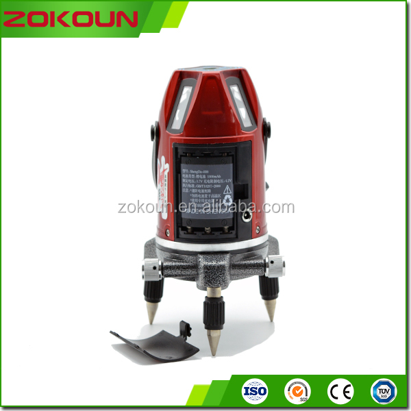 Power Tools 5 lines rechargeable multi line laser