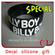 2013 High quality fashion cool men silicone bracelet